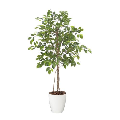 【メーカー直送の為代引き不可】人工樹木 フィッカスベンジャミナ 【東北花材】90832