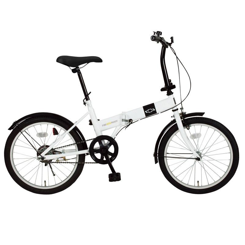 20インチ 折畳み自転車 シングルギア FDB20R 【シボレー CHEVROLET】【メーカー直送商品】【代金引換不可】