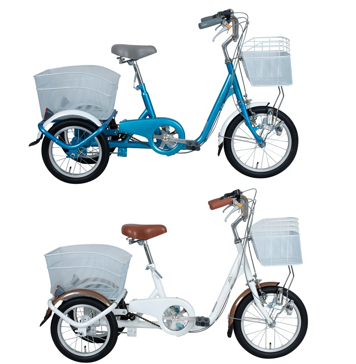 16インチ三輪自転車 SWING CHARLIE ロータイプ三輪自転車【スイングチャーリー ミムゴ】【メーカー直送商品】【代金引換不可】