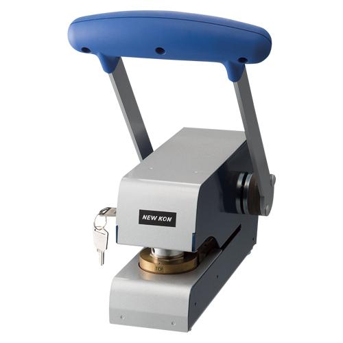 手動シールプレス【ニューコン工業】EMS-110 印面径:27mm ※版下校正代含む価格です。