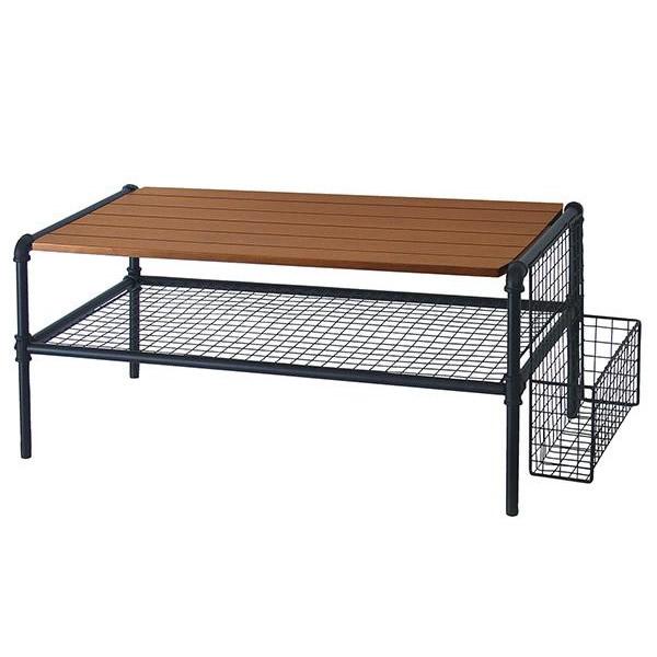 (同梱不可)塩川光明堂 JET BLACK(ジェットブラック)シリーズ テーブル