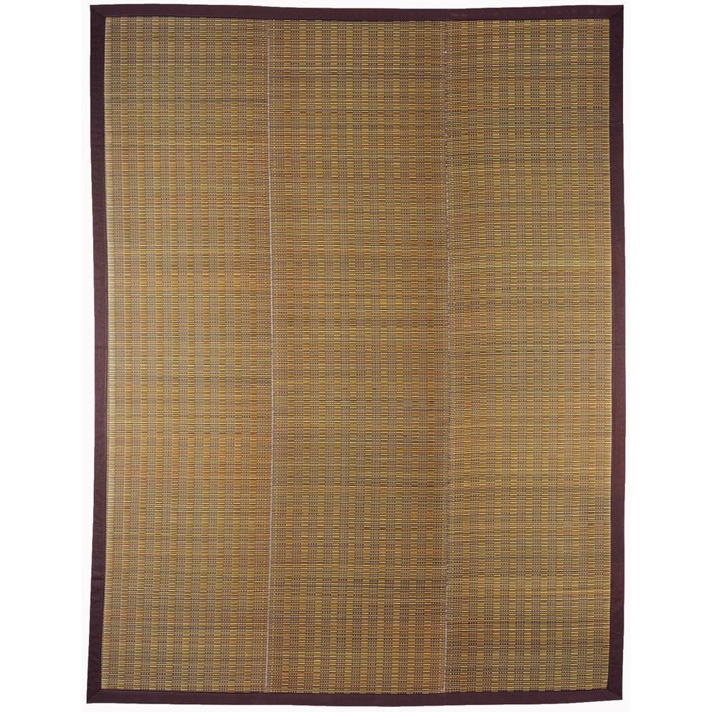 (同梱不可)い草コンパクトラグ(裏貼り) 仙名(せんな) 約180×240cm ベージュ 81848411