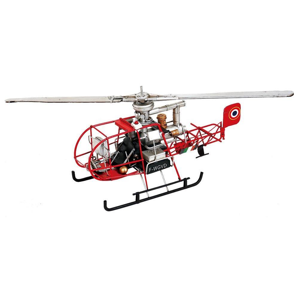 (同梱不可)ブリキのおもちゃ(mono helicopter) 27152