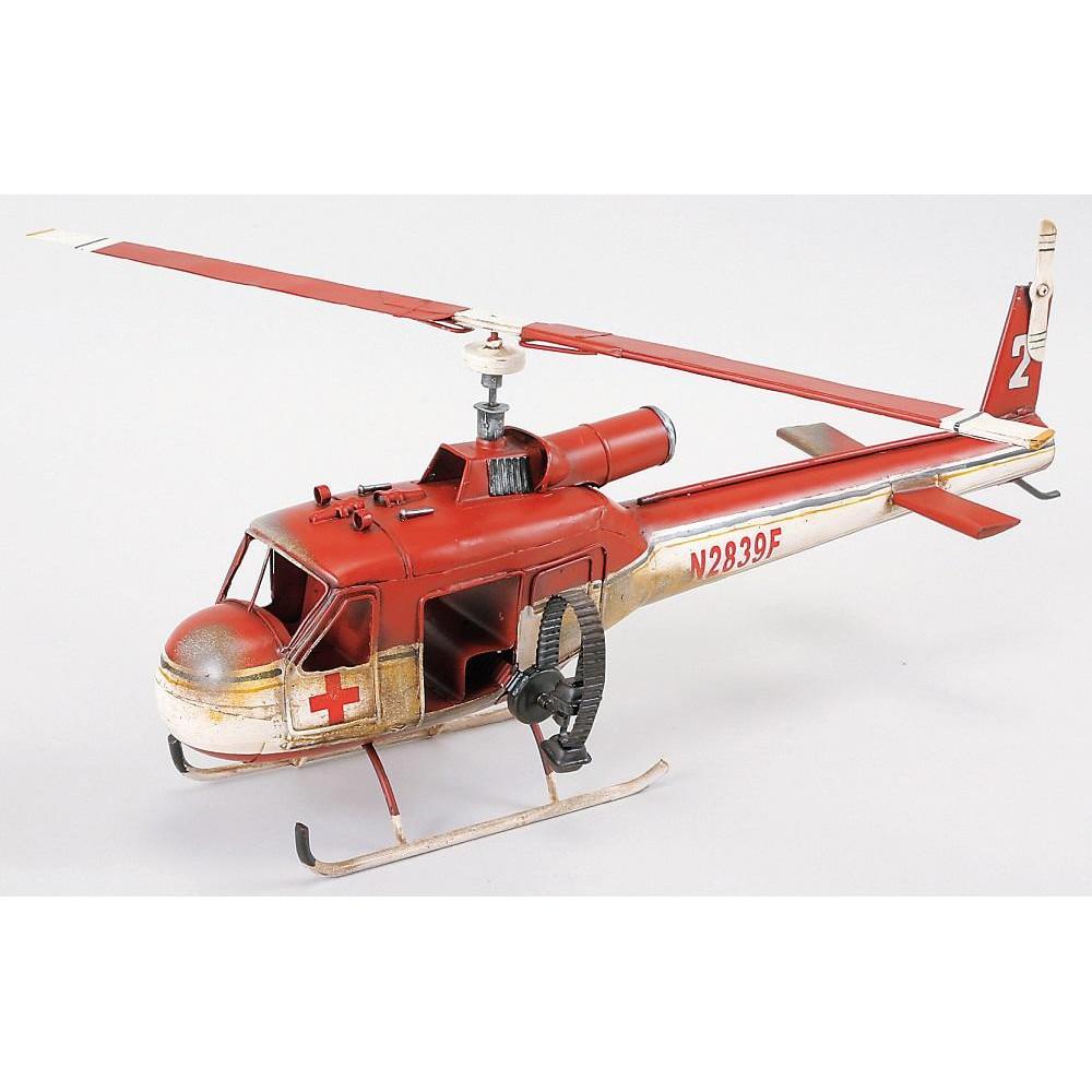 (同梱不可)ブリキのおもちゃ(mono helicopter) 27153