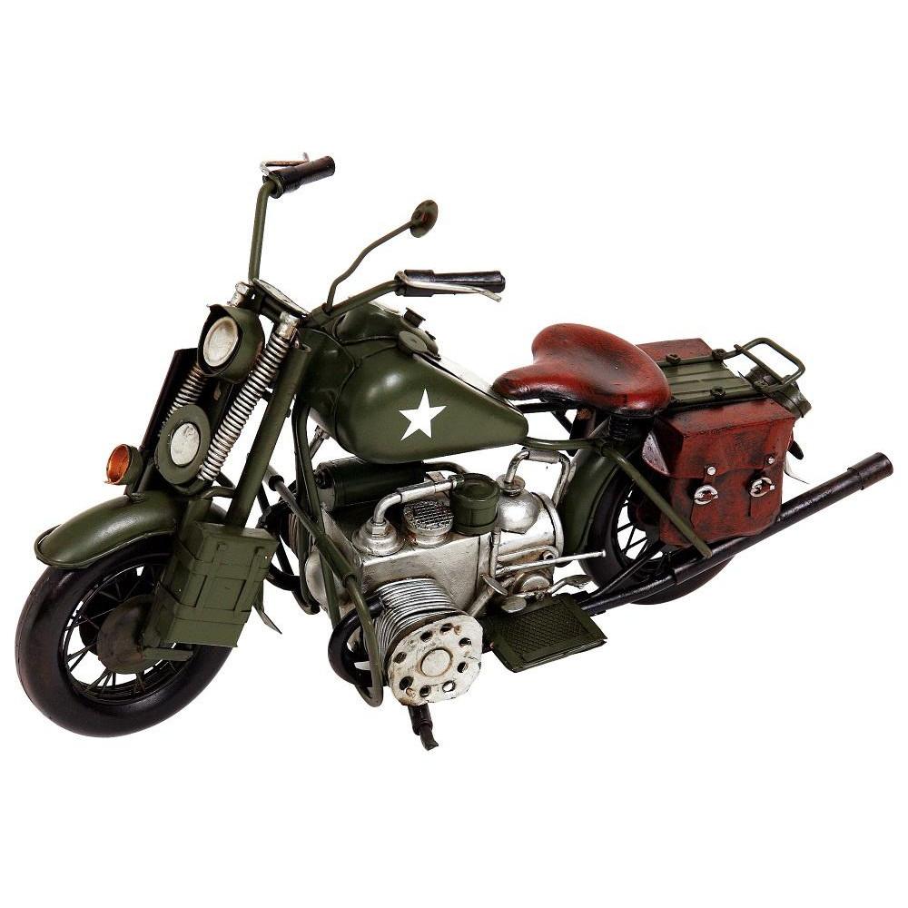 (同梱不可)ブリキのおもちゃ(motorcycle combat) 27166