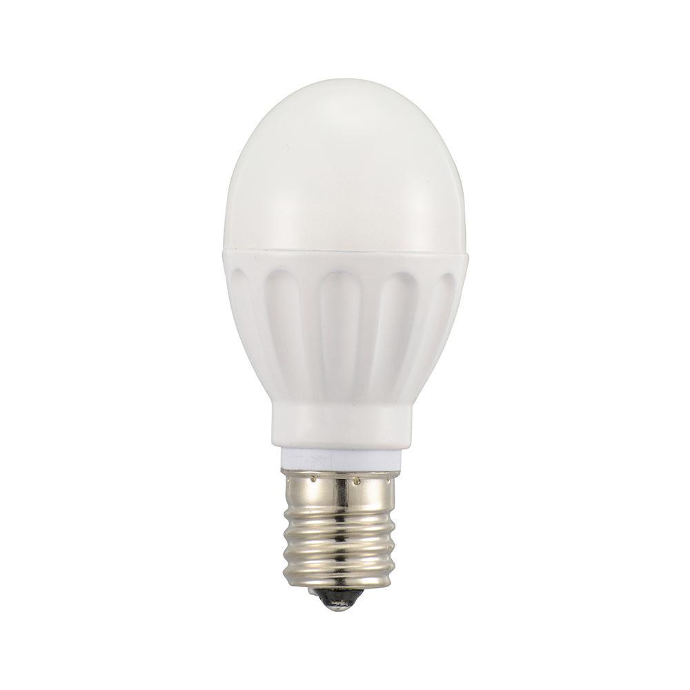 (同梱不可)OHM LED電球 小形 E17 40形相当 電球色 12個入 LDA4L-G-E17IH2112