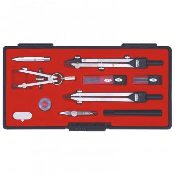 製図用品です 同梱不可 KD型製図器 12品組B 在庫一掃売り切りセール SE 1-730-7024 在庫あり