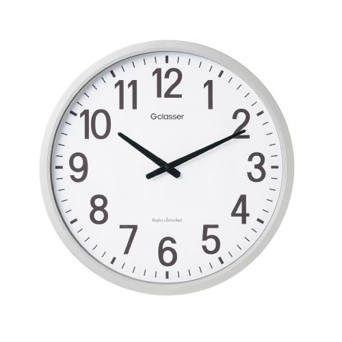 LADONNA 電波掛時計 ザラ-ジ 直径498×53mmGDK-001【キングジム】