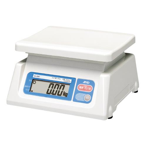 デジタルはかり 秤量:30kg 最小表示:0.02kgSL-30K【エー・アンド・デイ】