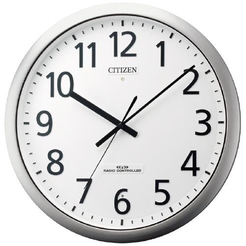 シチズン強化防滴坊塵型電波時計 直径380×57mm8MY484-019【シチズン】