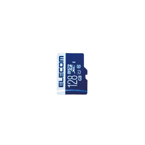 【ゆうパケット対応可】データ復旧microSDXCカード 128GBMF-MS128GU11R【エレコム】