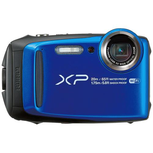 防水デジタルカメラ XP120 ブルーFX-XP120BL【富士フイルム】※在庫限り廃番予定。在庫切れの場合はご了承ください。