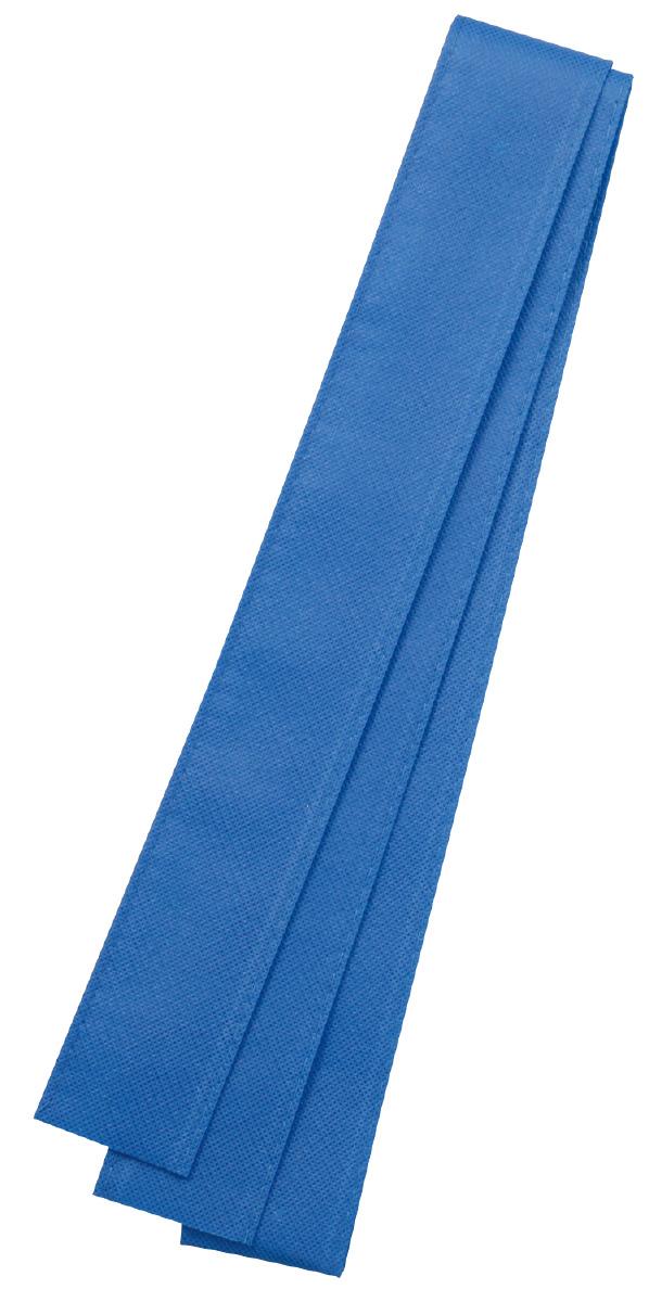 カラー不織布ハチマキ 青