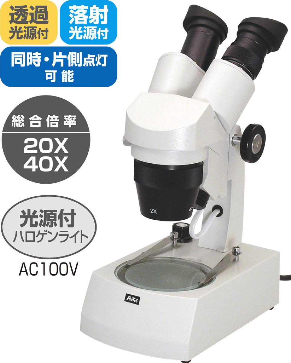 △鏡筒回転双眼実体顕微鏡