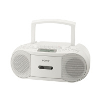 SONY CDラジカセ ホワイト CFD-S70W【SONY】