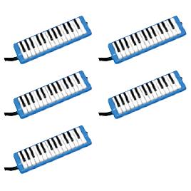 ピアニー 32鍵 ブルー (5台) 323AH BLUE【ゼンオン】
