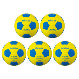 スマイルサッカー軽量3号 ピンク(5個) SF3J-YP*5【ミカサ】