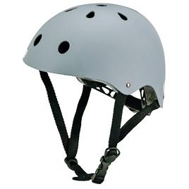 スポーツヘルメット グレー59cm ERA111【エバニュー】