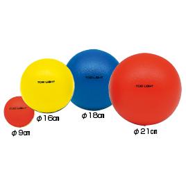 ソフトフォームボール9cm 青 セール開催中最短即日発送 『4年保証』 B-6066B トーエーライト