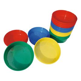 フルイ 4色4個組 16個教育素材Rj3A45L