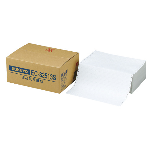 連続伝票用紙(企業向けフォーム) Y15×T11 1/3単線 EC-82513S【コクヨ】