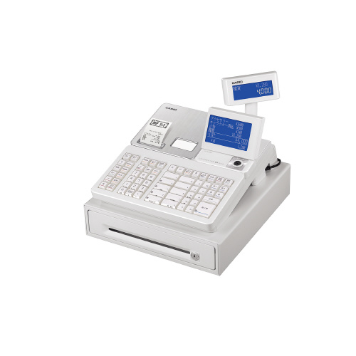 レジスターSR-S4000-20SWE ホワイト SR-S4000-20SWE【カシオ計算機】