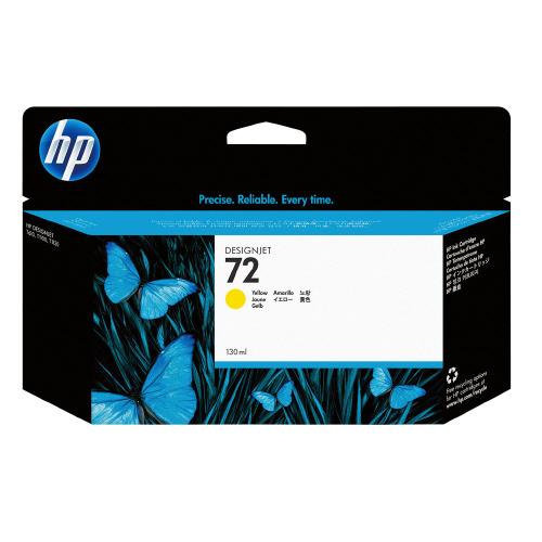 HP対応純正インクカートリッジ 72 イエロー C9373A【日本HP】