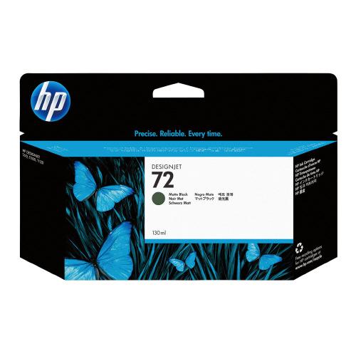 HP対応純正インクカートリッジ 72 マットブラック C9403A【日本HP】