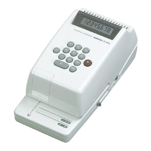 電子チェックライター IS-E20 電子式8桁 IS-E20【コクヨ】