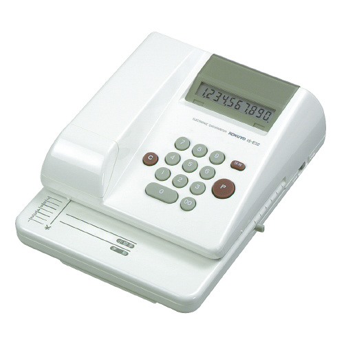 電子チェックライター IS-E22 10桁 IS-E22【コクヨ】