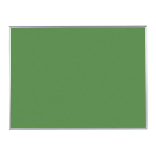 ツーウェイ掲示板 ピン・マグネット両用 グリーン 1210mm×910×17mm KB34G-M3【馬印】