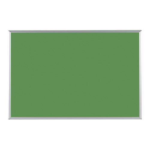 ツーウェイ掲示板 ピン・マグネット両用 グリーン 910×610×18mm KB23G-M3【馬印】