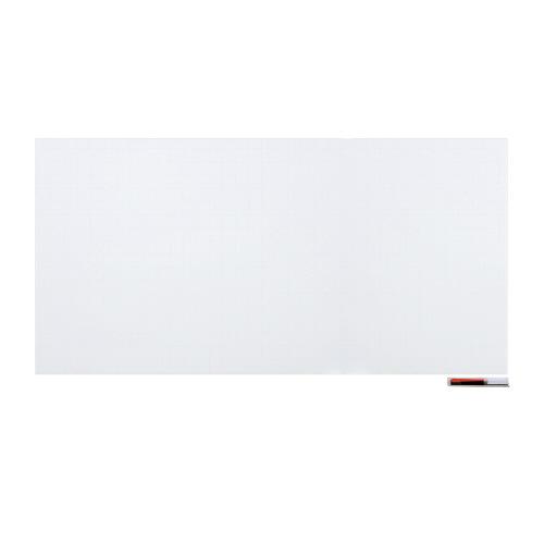暗線入りマグネットホワイトボードシート 超特大 W1800×H900mm MSHP-90180-M【マグエックス】