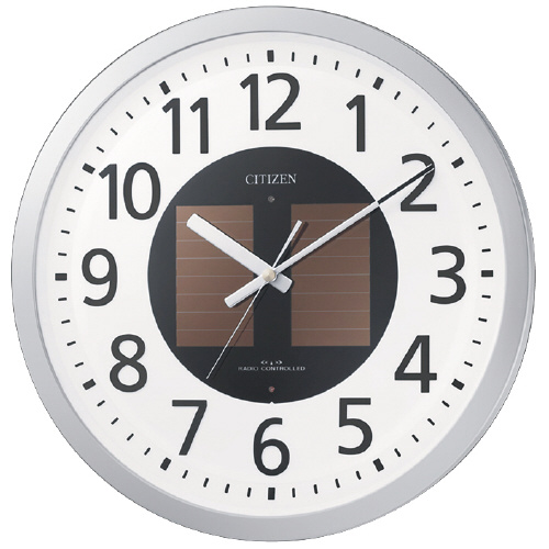 電波ソーラー時計 エコライフM815 直径350×51mm 4MY815-019【シチズン】
