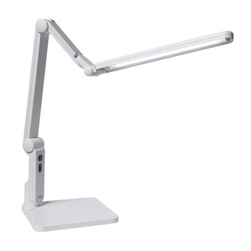 LEDデスクライト スタンド式 ホワイト 興和光学 EK320-WH2【興和光学】