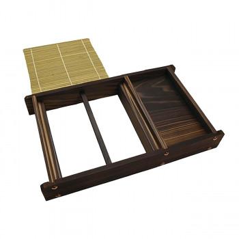 そば道具 代引き不可 返品交換不可 同梱不可 ネズコ天ぷらセイロ 5-13-05 雅漆工芸 直営店