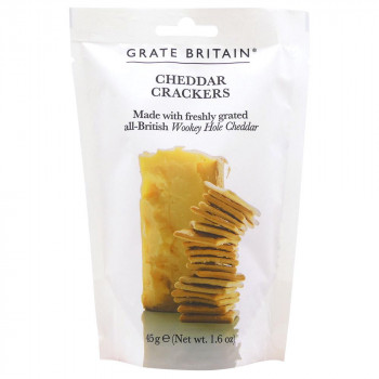 おいしいチーズクラッカー 代引き不可 予約販売 高い素材 同梱不可 アーティザン グレイトブリテン クラッカー 45g 20セット チェダーチーズ