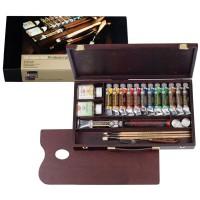 (同梱不可)REMBRANDT レンブラント油絵具 ラグジュアリーボックス13色セット T0184-0003 410855