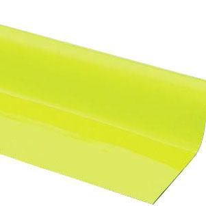 (代引き不可)(同梱不可)光 (HIKARI) ゴムマグネット 0.8×1010mm 10m巻蛍光イエロー GM08-8006Y