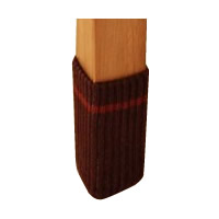 床の傷つき防止 消音効果 床 テーブルソックス 防止 同梱不可 期間限定 スマイルキッズ AIC-02 4個入 ブラウン KIDS SMILE キズつきにくいテーブル脚カバー 商い