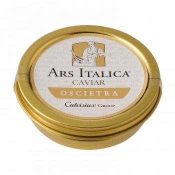 北イタリアで養殖されたキャヴィア 代引き不可 同梱不可 アルスイタリカ イタリア産キャビア 7202 オシェトラ 約50g 期間限定で特別価格 フレッシュ ロイヤル 18%OFF