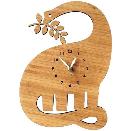 (代引き不可)(同梱不可)Made in America DECOYLAB(デコイラボ) 掛け時計 ディプロドクス恐竜 DD
