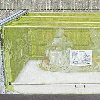 (代引き不可)(同梱不可)ダイケン ゴミ収集庫 クリーンストッカー ネットタイプ CKA-2016