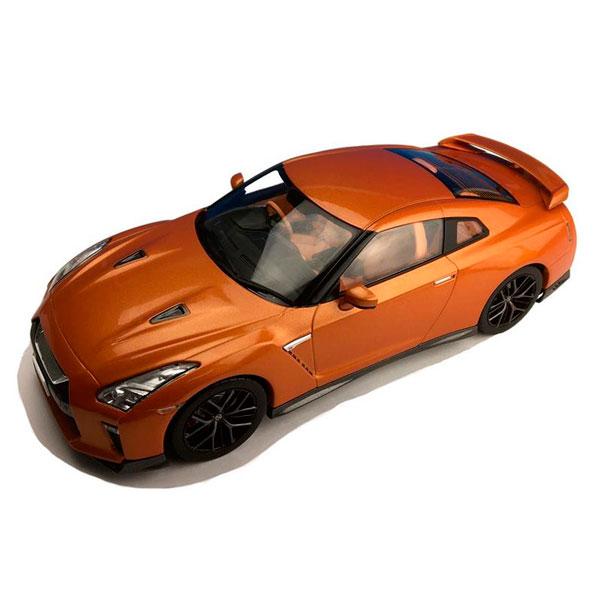 (同梱不可)First18/ファースト18 日産 GT-R 2017 アルティメイトシャイニーオレンジ 1/18スケール F18020