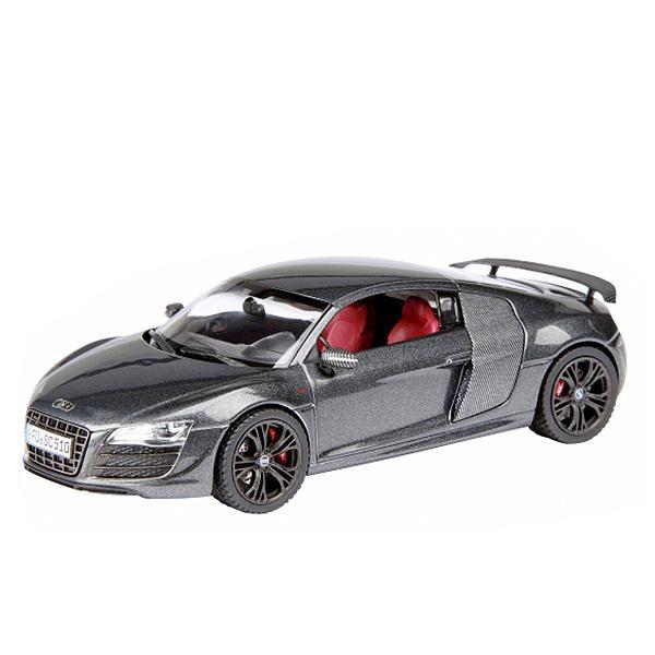 (同梱不可)Schuco/シュコー アウディ R8 GT デイトナグレー 1/43スケール 450722800