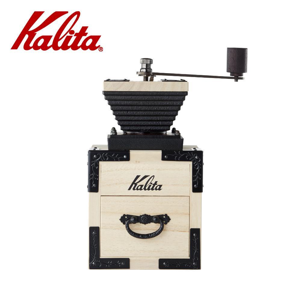 「桐」をあしらったコーヒーミル。  (同梱不可)Kalita(カリタ) KIRI&Kalita コーヒーミル 桐モダン壱 42140