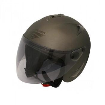 (同梱不可)ダムトラックス(DAMMTRAX) BIRD HELMET ヘルメット FLAT GUNMETAL