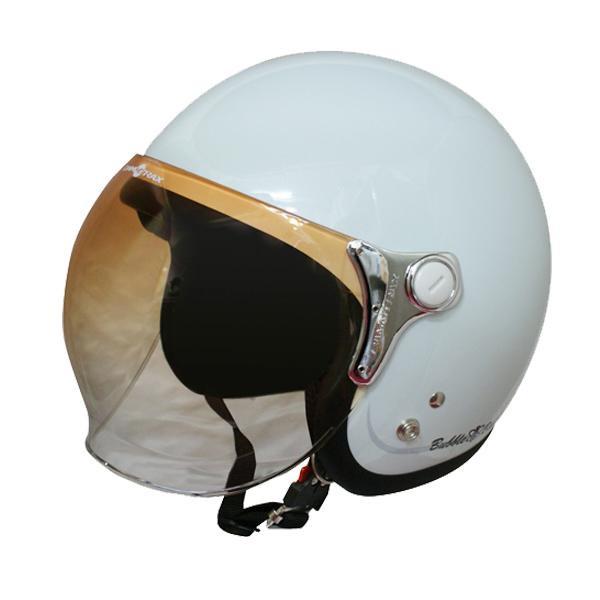(同梱不可)ダムトラックス(DAMMTRAX) バブル ビー ヘルメット PEARL WHITE