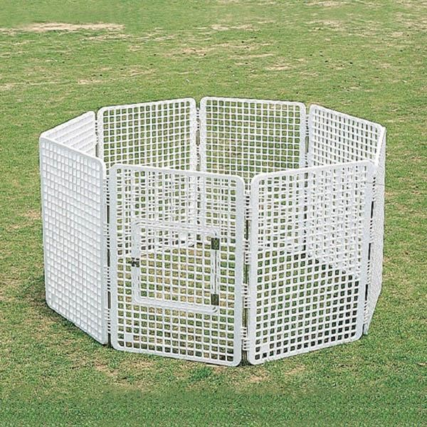 (代引き不可)(同梱不可)三甲 サンコー ペットフェンス(タテタイプ) 805671-01 ホワイト