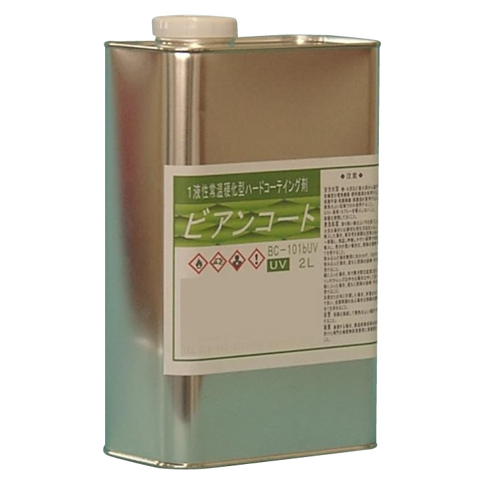 (代引き不可)(同梱不可)ビアンコジャパン(BIANCO JAPAN) ビアンコートB ツヤ有り(+UV対策タイプ) 2L缶 BC-101b+UV